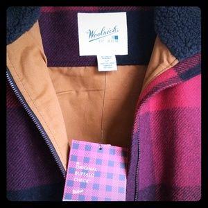 Buffalo Check Woolrich vest Brand New